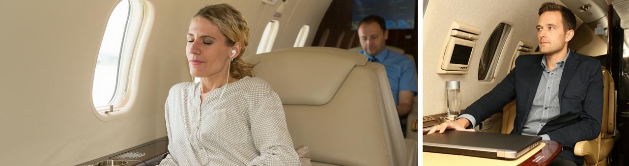 Пассажиры частных самолетов
