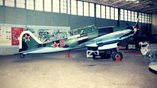 Ilyushin IL-2 Sturmovik fighter aircraft used in World War II