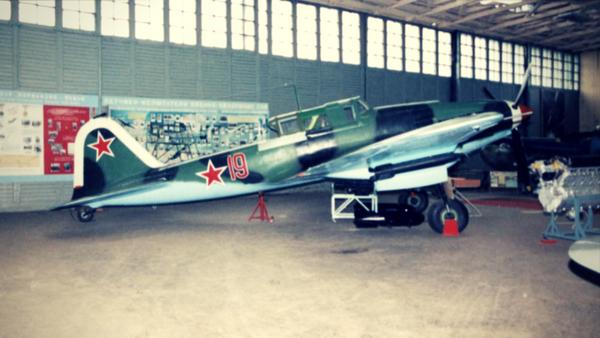 Ilyushin IL-2 Sturmovik fighter aircraft used in World War II