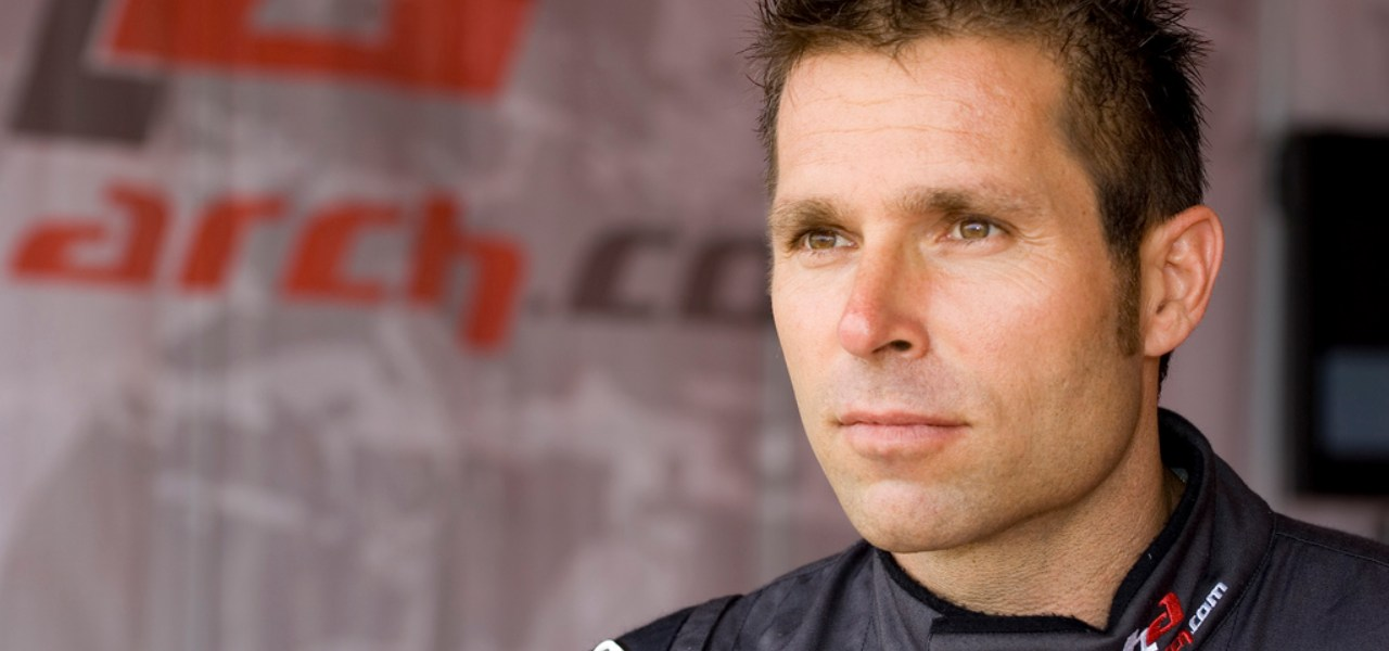 Close up of former Red Bull Air Race World Champion Hannes Arch