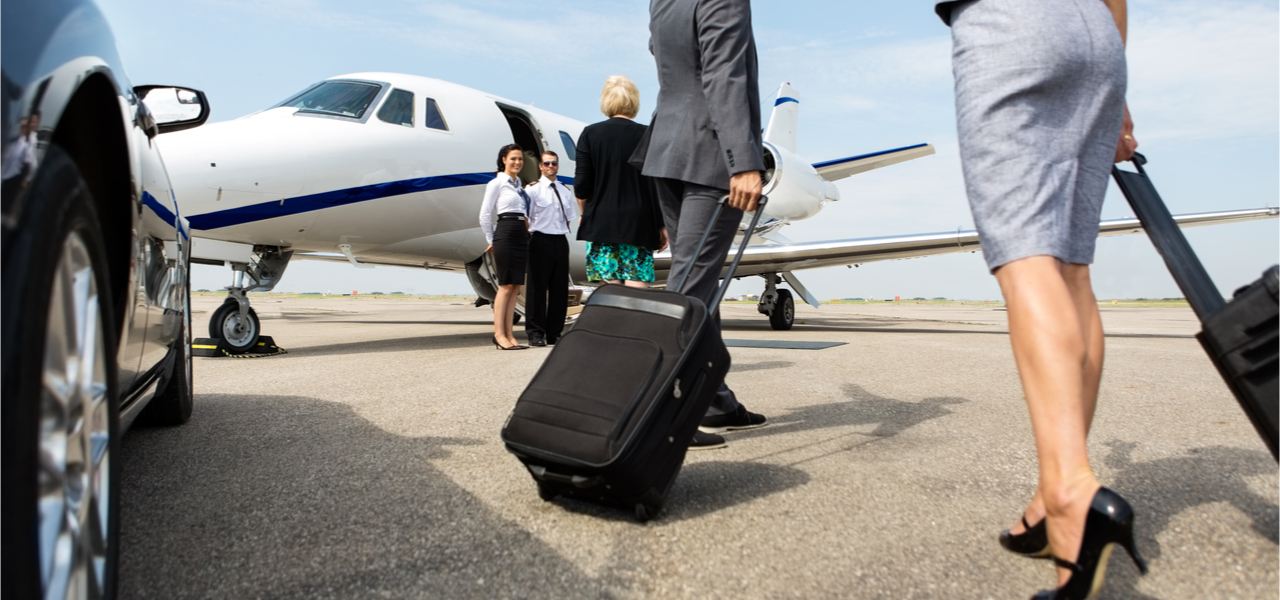 Private jet for business