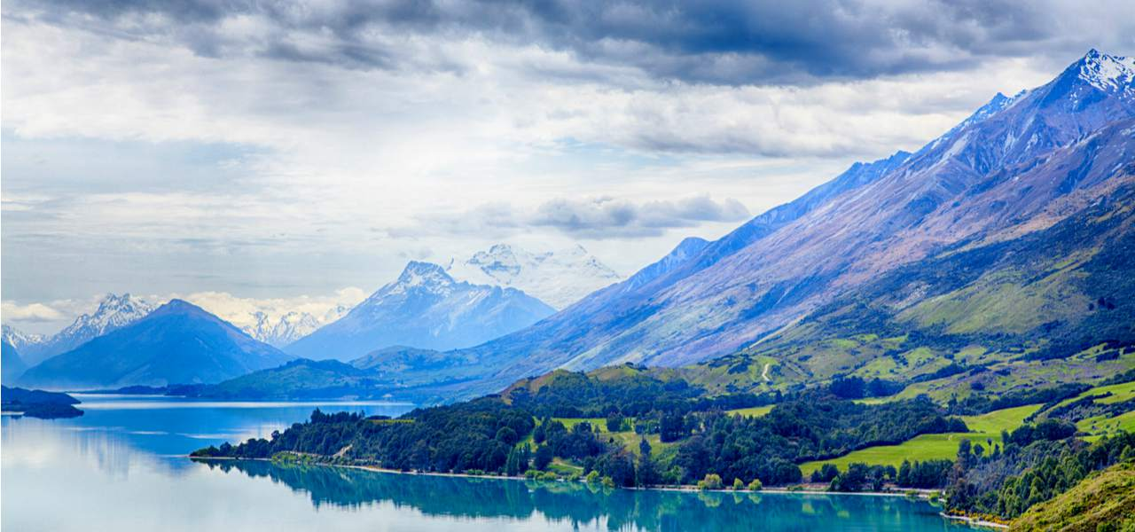 Lake Wakatipu from the Lord of the Rings films