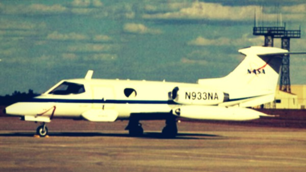 Learjet 23 airplane, the first mass produced business jet