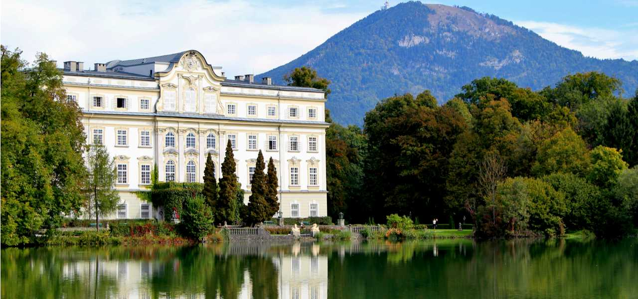 Leopoldskron Palace, a famous filming location from The Sound of Music