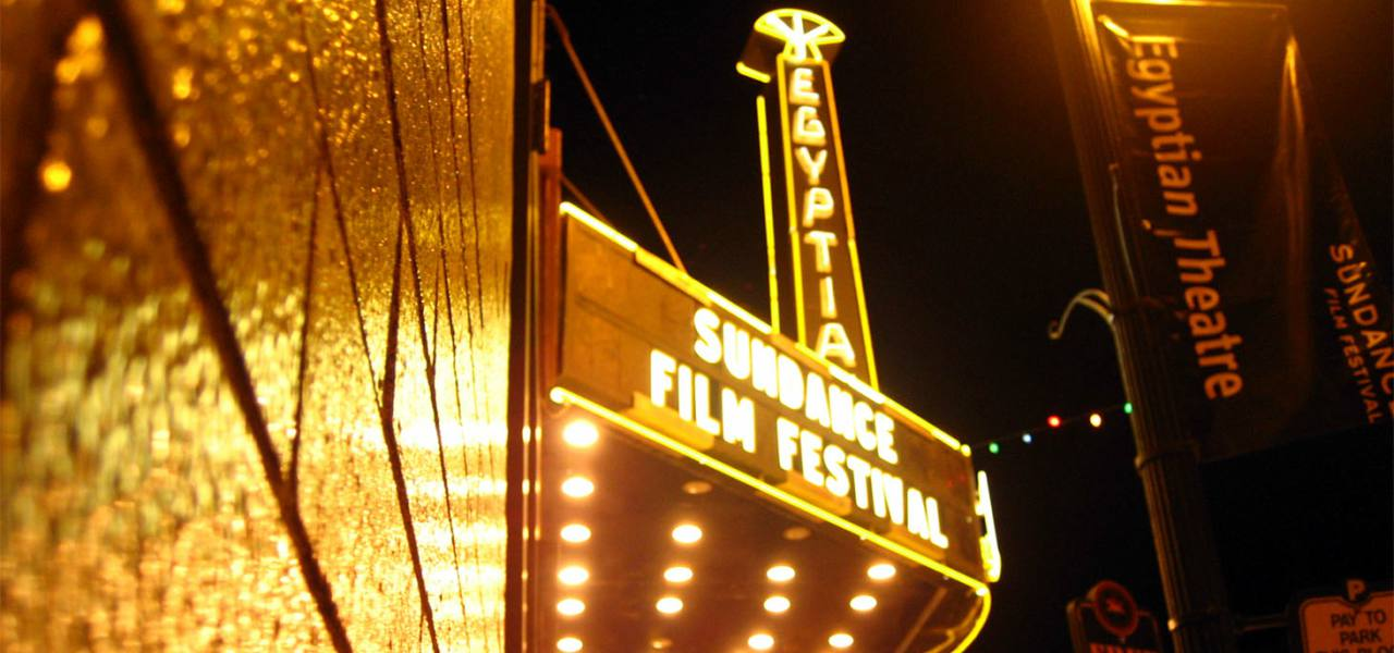 Mary G. Steiner Egyptian Theatre in Park City, Utah, one of the venues for Sundance Film Festival screenings