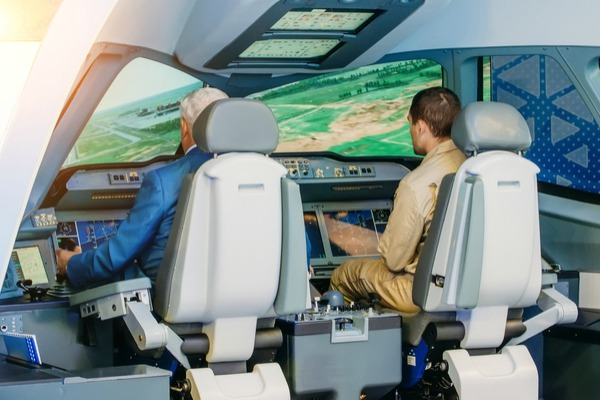 Pilot training simulator