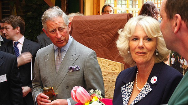 Prince Charles with Camilla