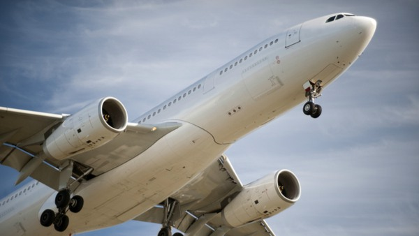 Airbus A330 taking off