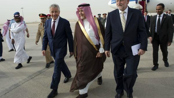 Prince Mohammad bin Fahd in the centre