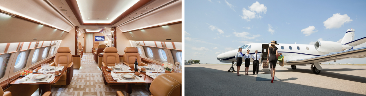 8 Benefits of Flying by Private Jet Charter