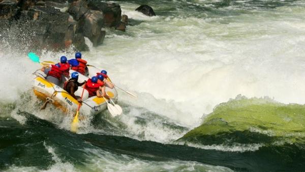 White Water Rafting, Zimbabwe