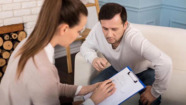 Counselling Sessions to reduce anxiety