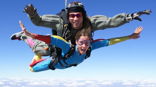 Skydiving in Switzerland