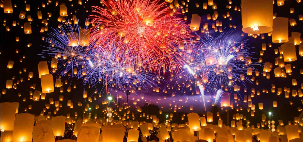 Private jet charter to the Sky Lantern Festival Taiwan - body
