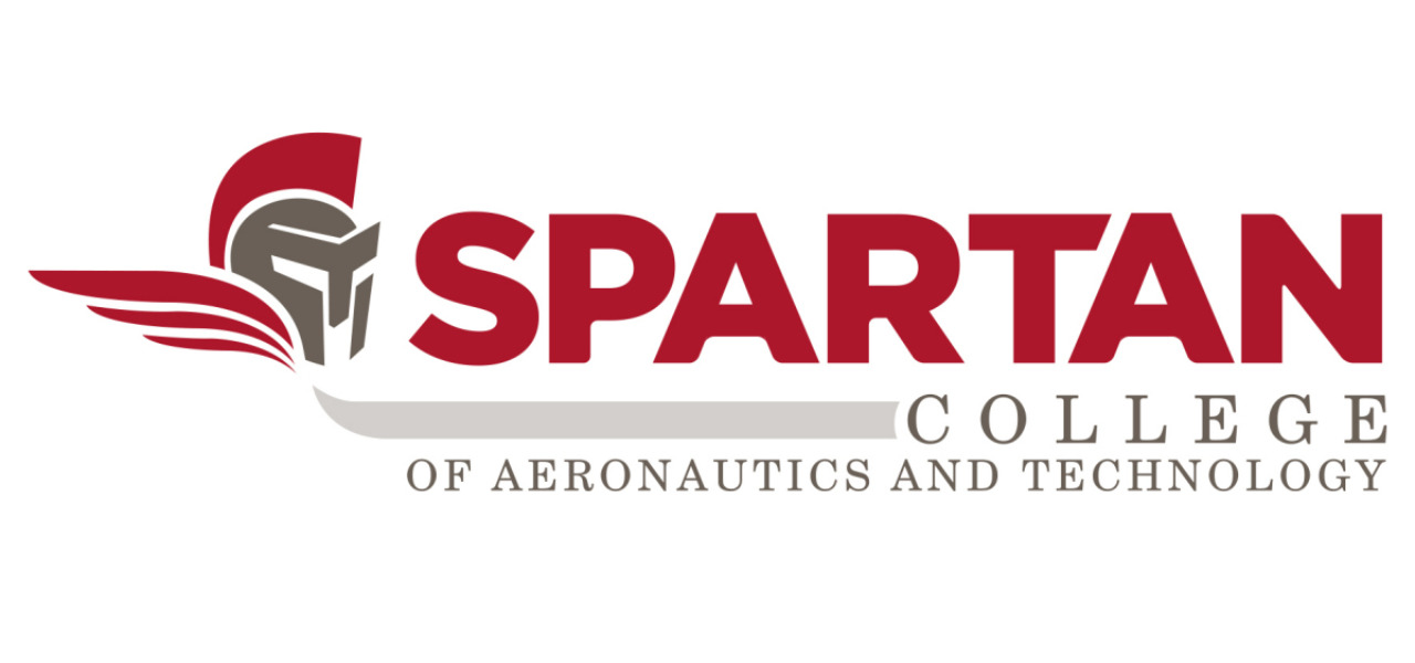Logo of Spartan college of Aeronautics and Technology.