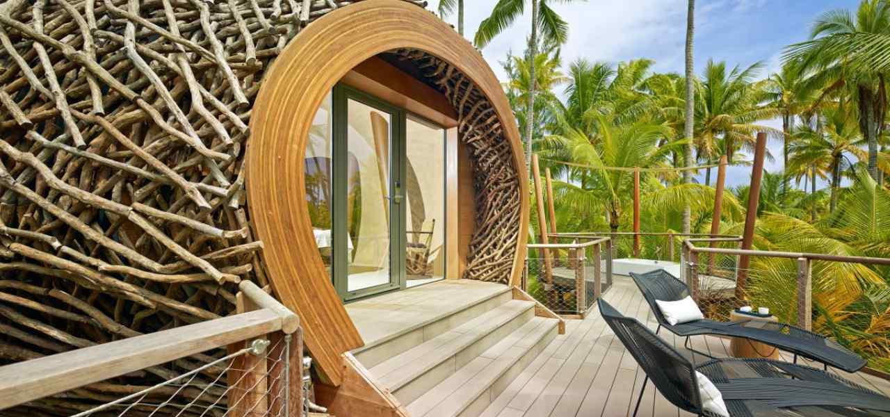 Отель Brando, Французская Полинезия