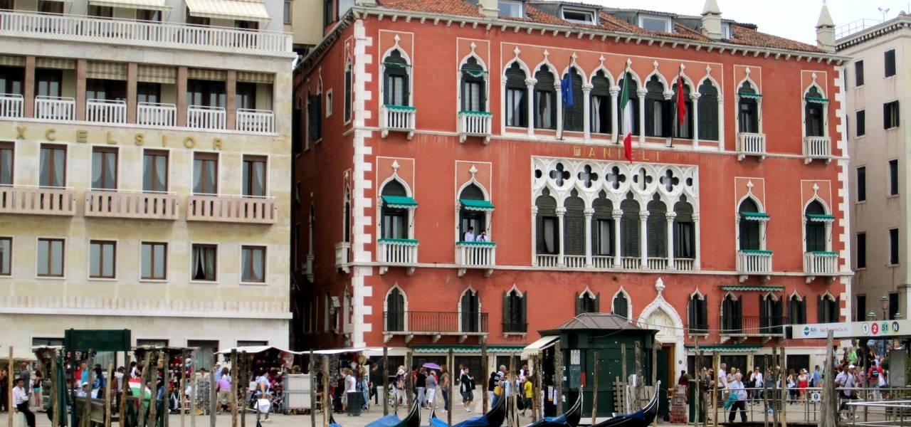 Views of Gondolas in Venice
