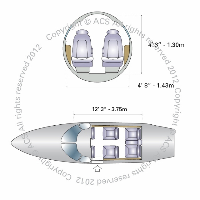 Layout Digram of ECLIPSE 500 550