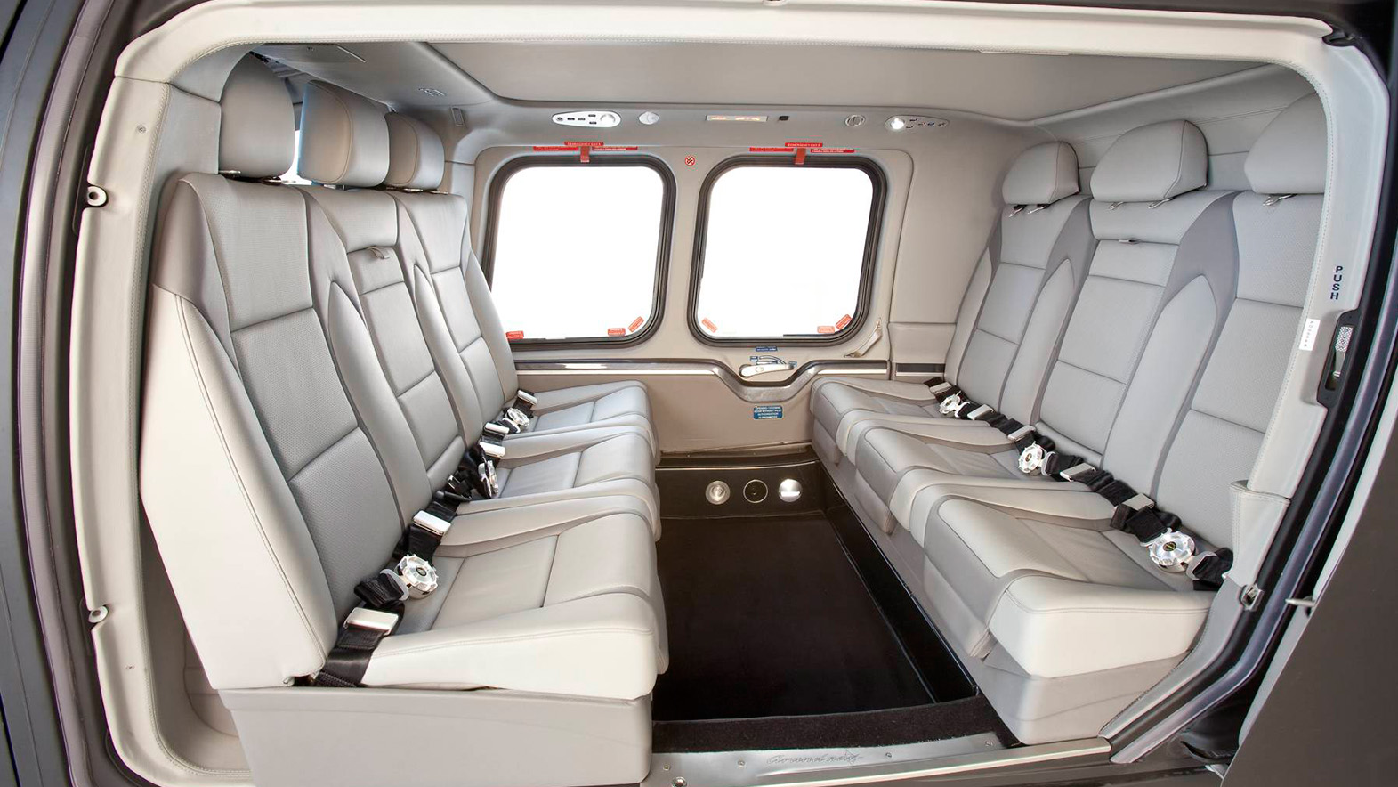 Interior of AGUSTA WESTLAND 109 POWER GRAND