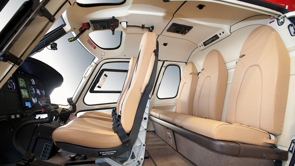 Interior of EUROCOPTER AS350 ECUREUIL ASTAR