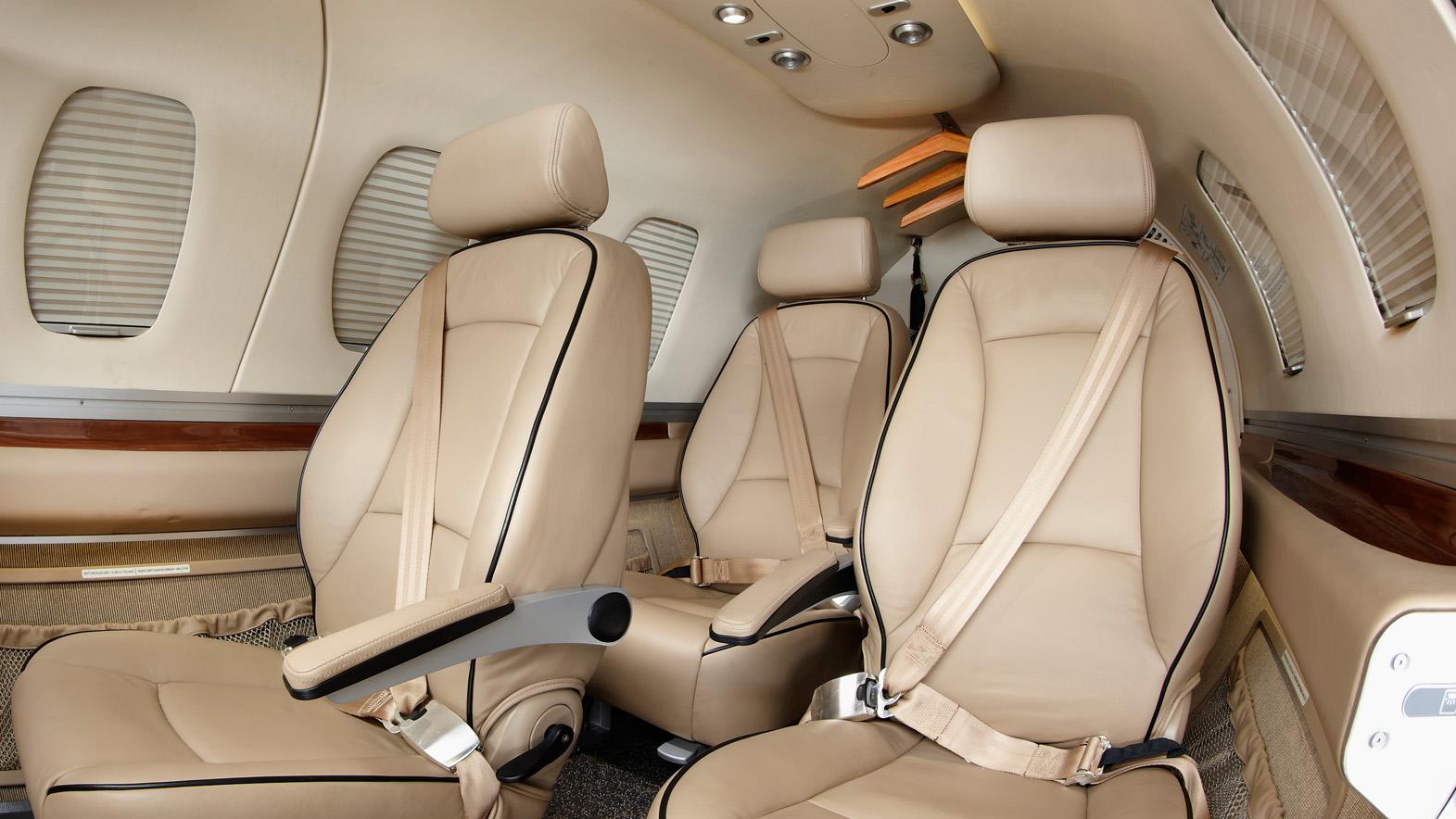 Interior of ECLIPSE 500 550