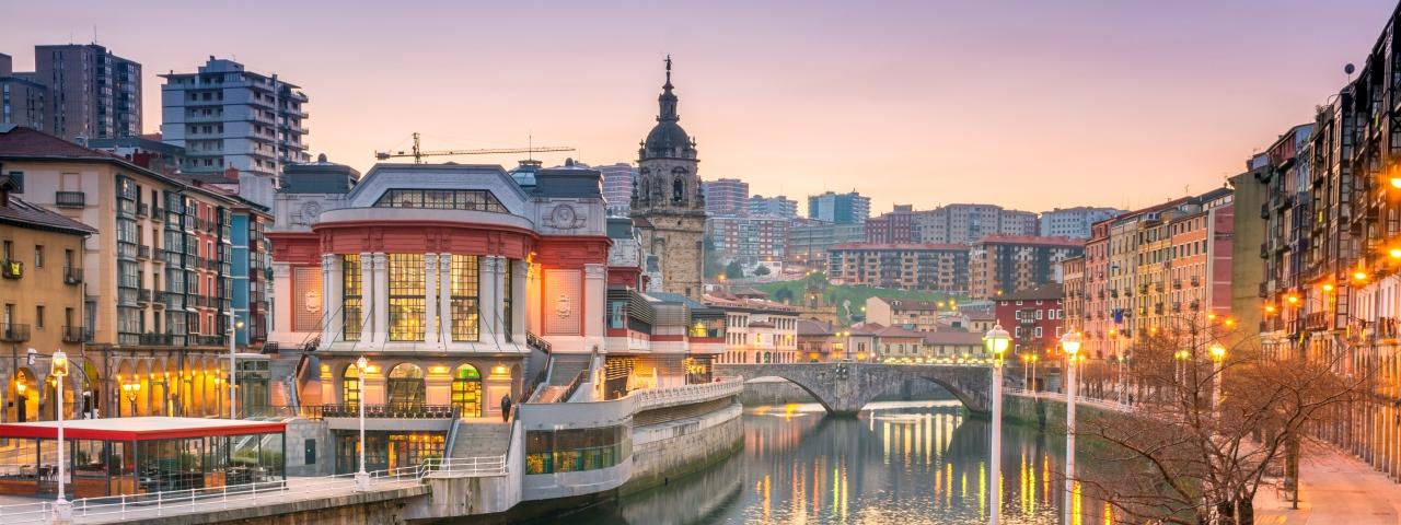 Alquiler de aviones y vuelos a Bilbao
