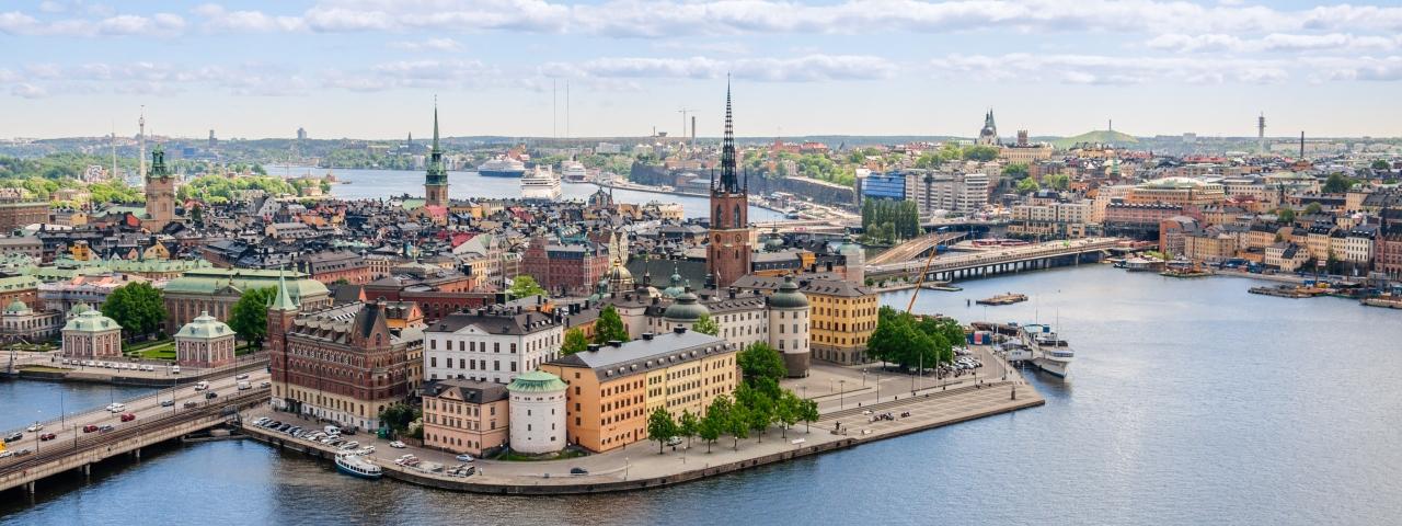 Alquiler de un avión privado para volar a Estocolmo