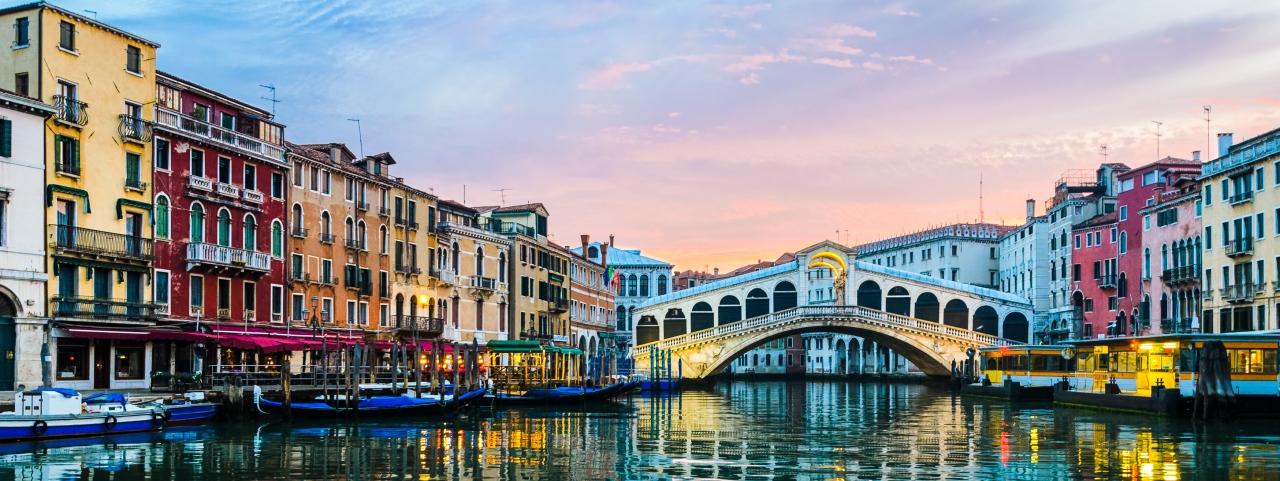 Alquiler de avión privado a Venecia