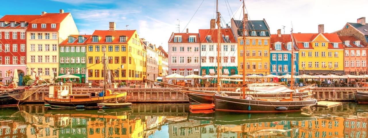 Alquiler de aviones y vuelos a Copenhague