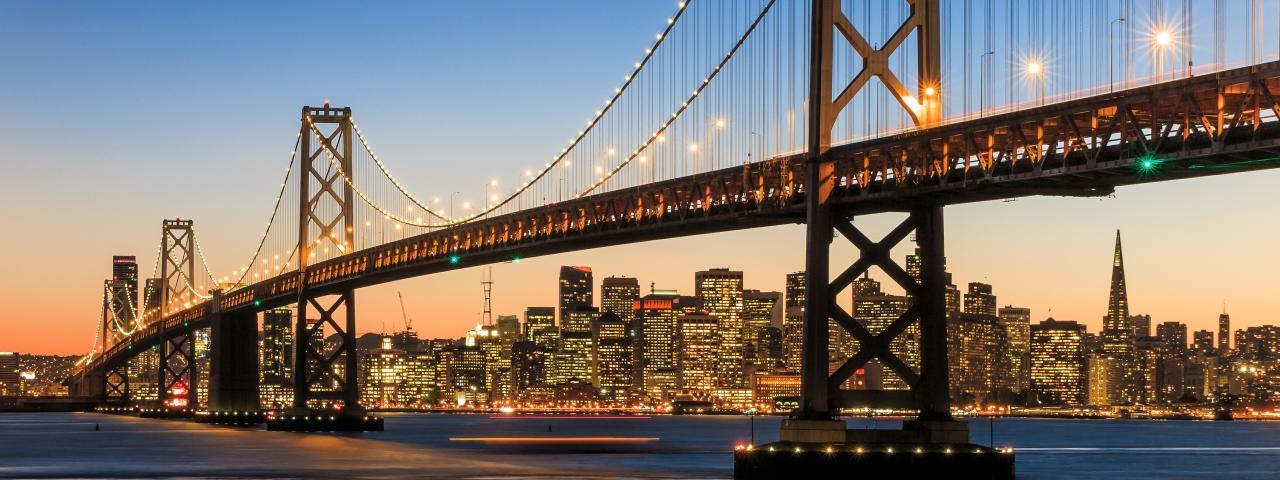 Alquiler de un avión privado para volar a San Francisco
