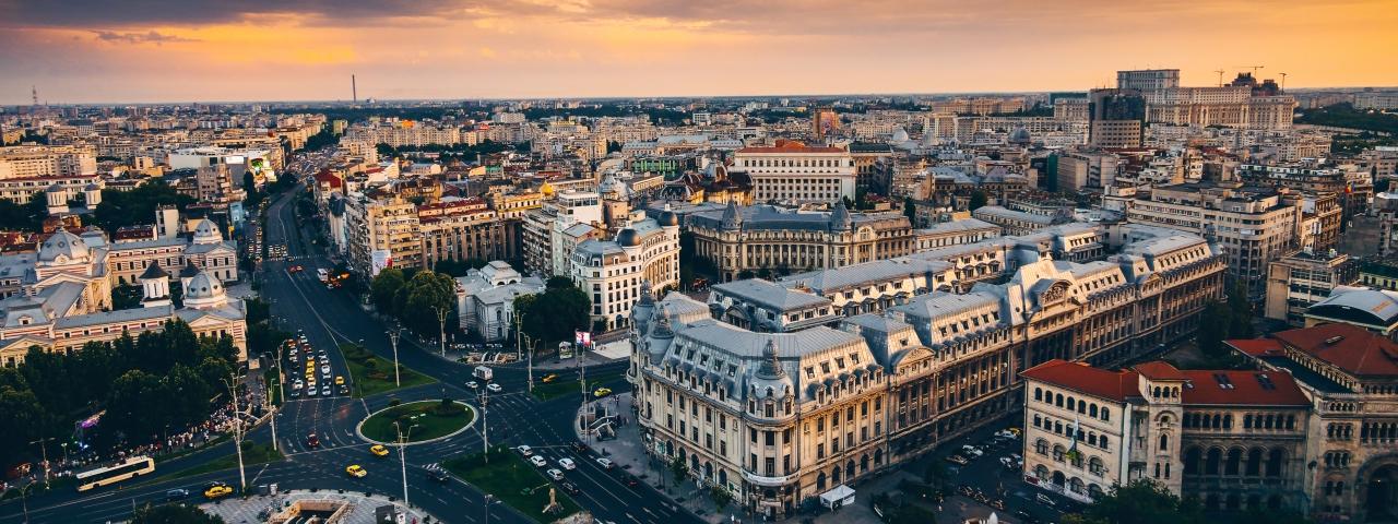 Alquiler de avión privado que le lleve a Bucarest