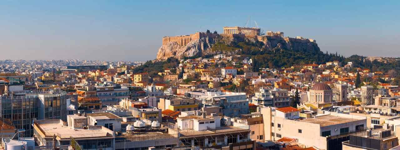 Alquiler de aviones y vuelos a Atenas