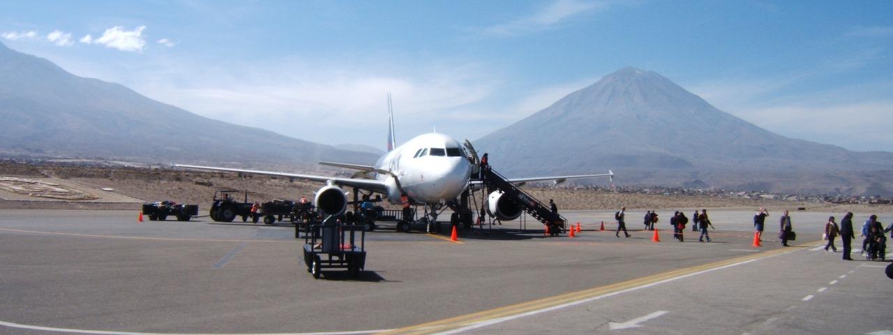 Private Jet Charter to Rodríguez Ballón International Airport