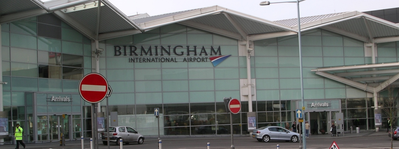 Private Jet Charter to Birmingham Airport