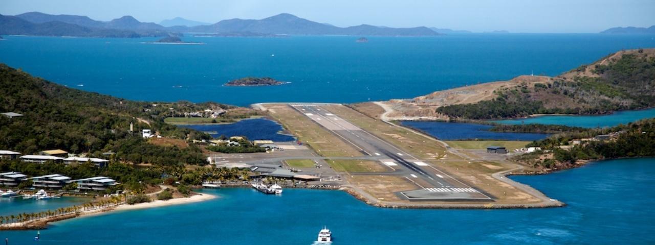 Charter to Hamilton Island Airport