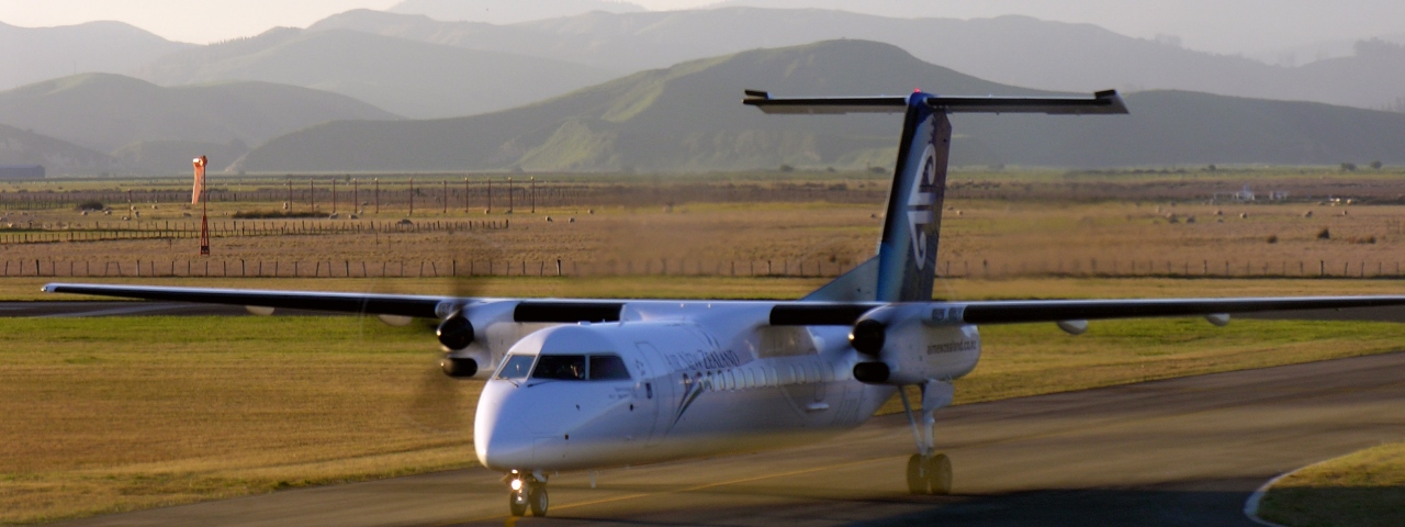 Private Jet Charter to Napier Airport