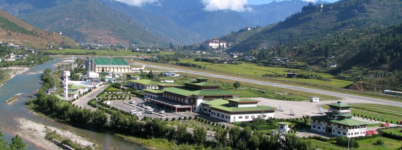 Private Jet Charter to Paro Airport