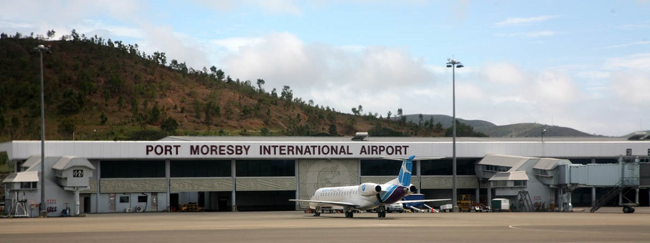 Private Jet Charter to Port Moresby Airport