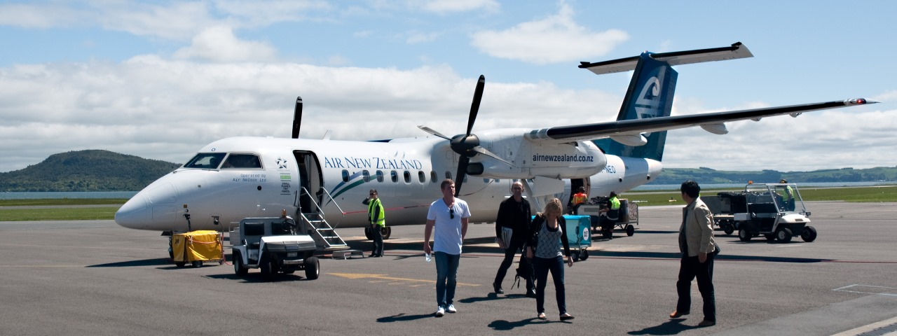 Private Jet Charter to Rotorua Airport