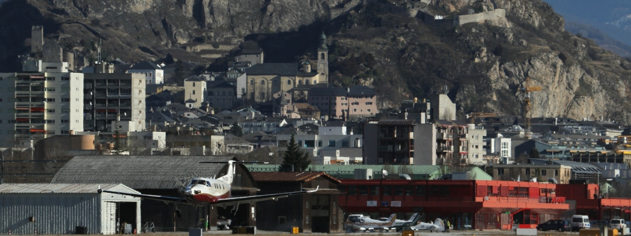 Private Jet Charter to Sion Airport