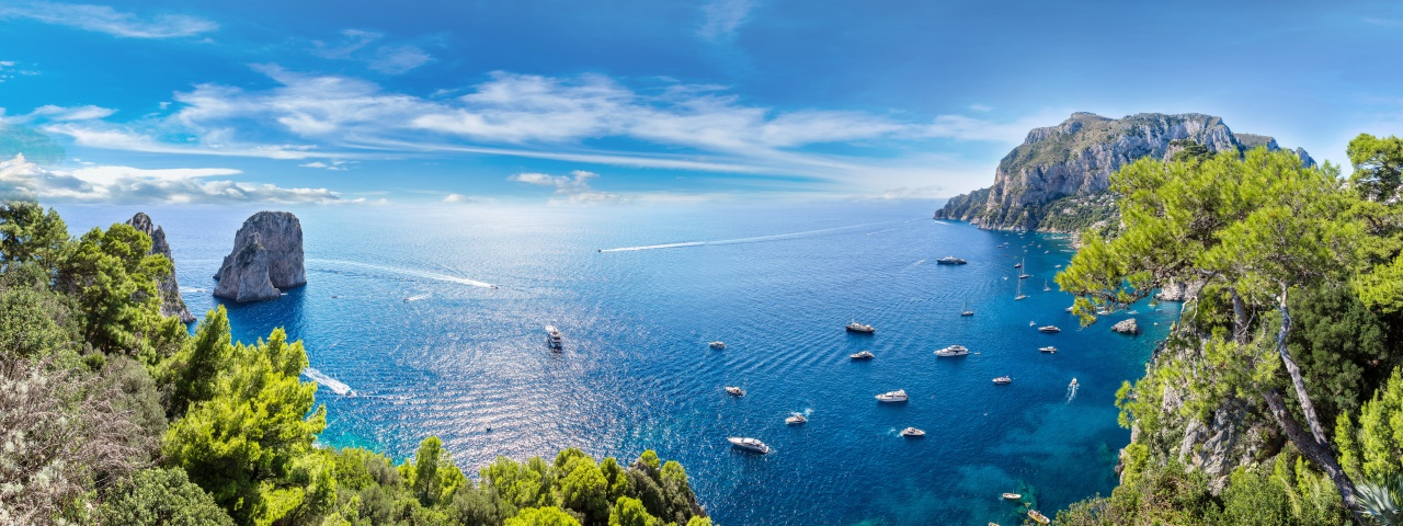 Private Jet Charter to Capri