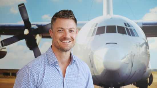 Private jet charter to Learmonth