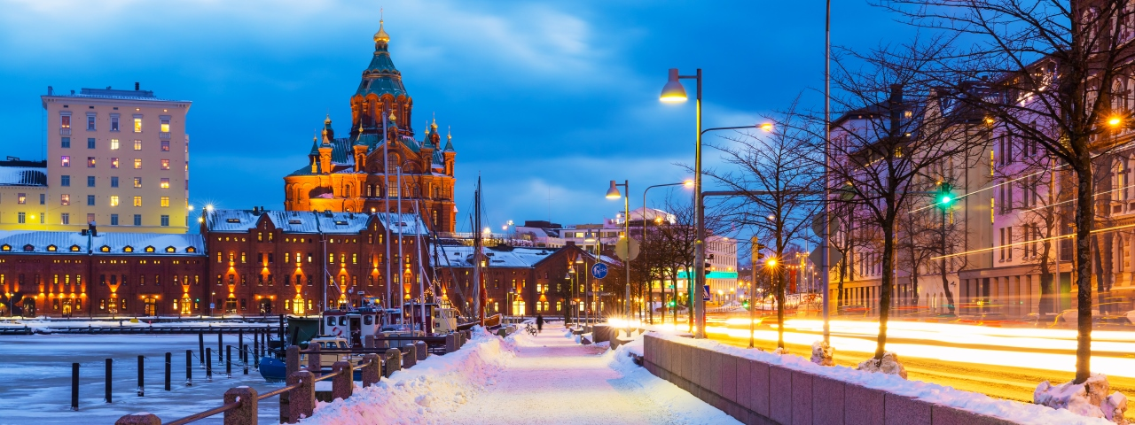 Private Jet Charter to Helsinki