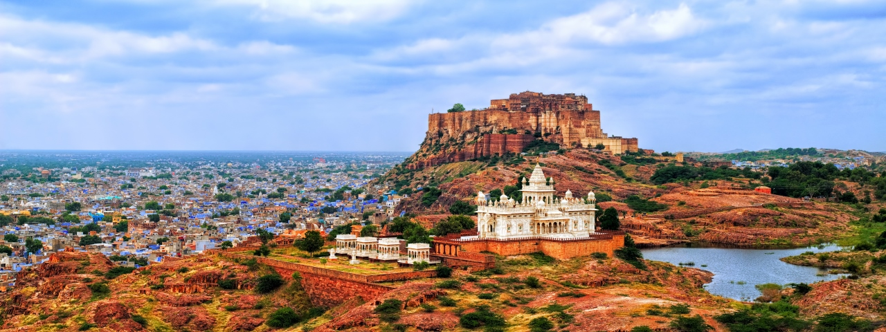Private jet charter and flights to Jodhpur