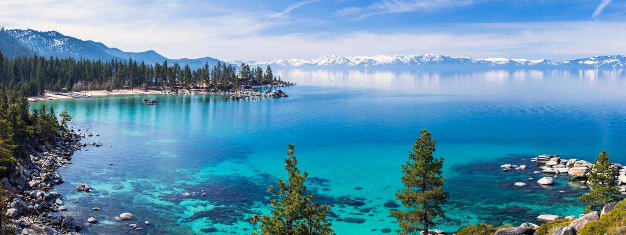 Private jet rental and flights to Lake Tahoe