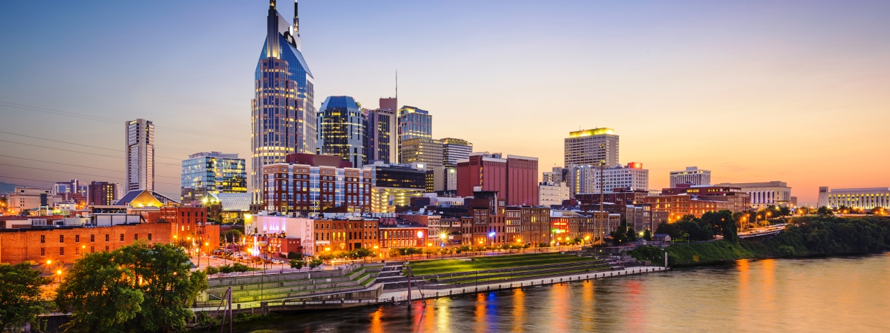 Luxury Private Jet Charter to Nashville, Tennessee