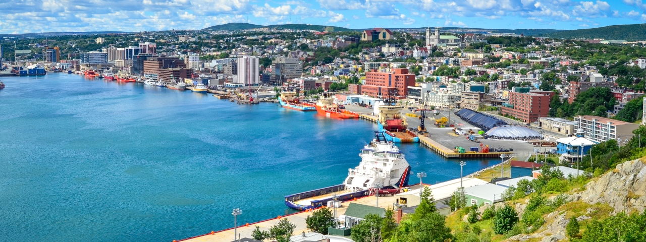 Private Jet Charter to Newfoundland and Labrador