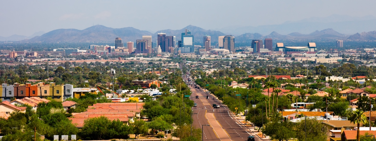 Private Jet Charter to Phoenix
