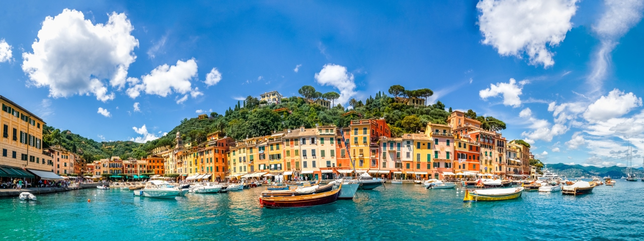 Private Jet Charter to Portofino