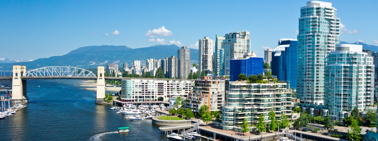 Private Jet Charter to Vancouver